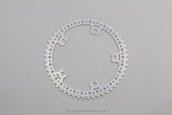 52T SR (Sakae/Ringyo) Royal Super Light Vintage Drilled NOS Chainring - Pedal Pedlar - Classic & Vintage Cycling
