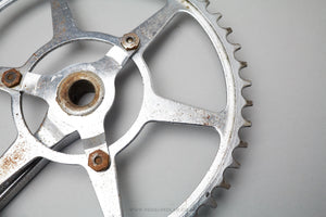 Williams Vintage 1/8th Track Cottered Chainset