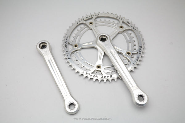 Campagnolo Eddy Merckx Pantographed Super Record Strada Double Chainset