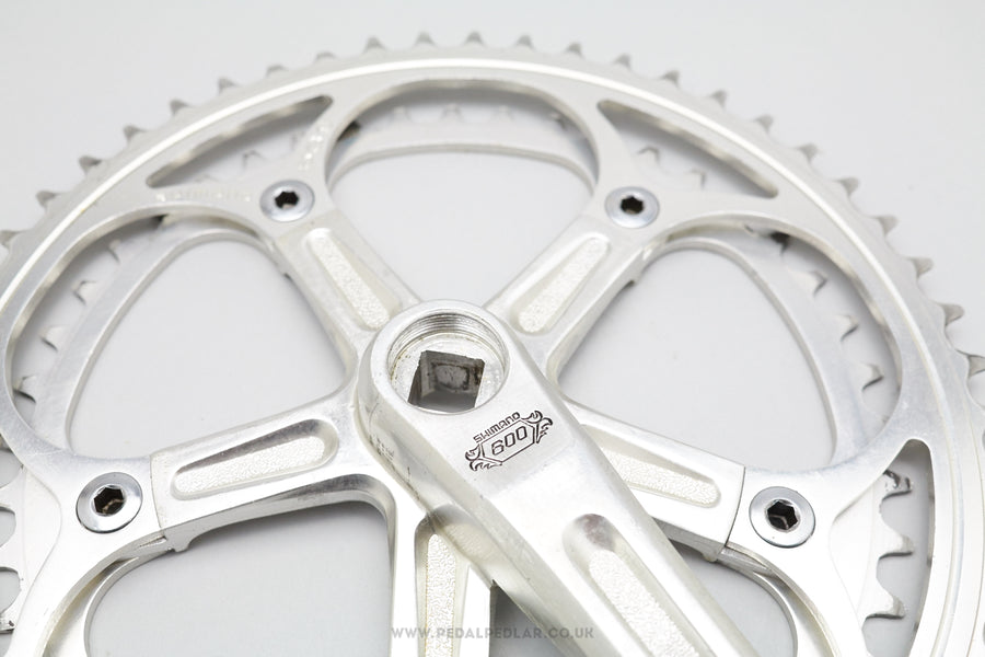 Shimano 600EX Arabesque Vintage Double Chainset
