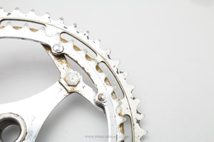 Vintage French Double Cottered Chainset