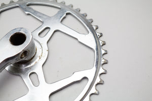 Classic Single Ring Cottered Steel Chainset