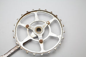 Williams C34 1850s Inch Pitch/Skip Tooth Classic Cottered Chainset