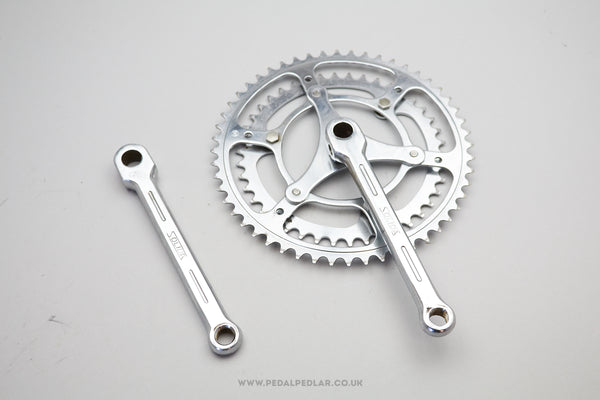 Solida Classic Steel Cottered Double Chainset
