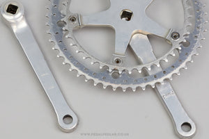 Sugino Mighty Competition c.1972 Vintage Double Crankset - Pedal Pedlar - Classic & Vintage Cycling