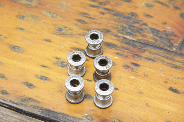 Sugino Double Chainring Bolts - Pedal Pedlar  - 1
