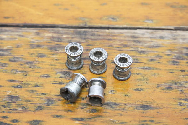 Sugino Double Chainring Bolts - Pedal Pedlar