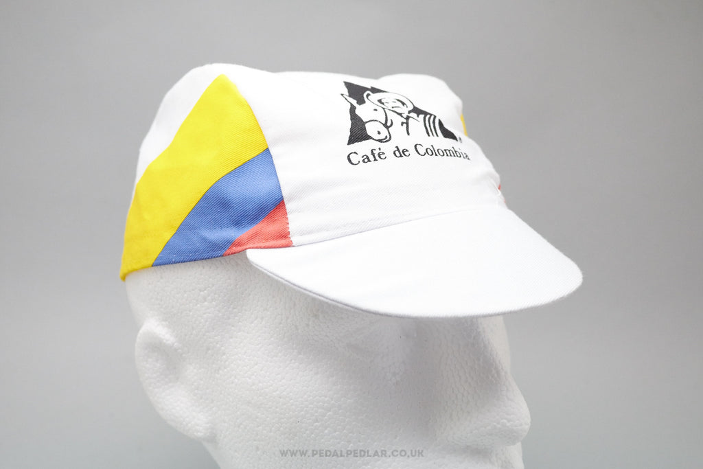 Cafe De Colombia Cotton Cycling Cap For Sale At Pedal Pedlar
