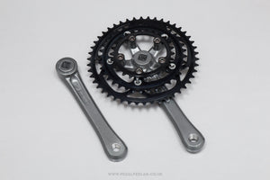 Suntour XCD c.1990 NOS Classic Triple Chainset - Pedal Pedlar - Buy New Old Stock Bike Parts