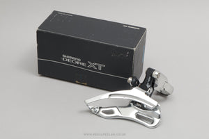 Shimano Deore XT (FD-M737) c.1993 NOS/NIB Classic Triple Clamp-On 28.6 mm Front Mech - Pedal Pedlar - Buy New Old Stock Bike Parts