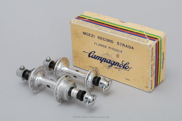 Campagnolo Nuovo Record (1034) NOS/NIB Vintage 28/28h Hubs - Pedal Pedlar - Buy New Old Stock Bike Parts
