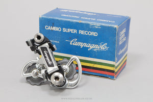 Campagnolo Super Record (4001) c.1982 NOS/NIB Vintage Rear Mech - Pedal Pedlar - Buy New Old Stock Bike Parts
