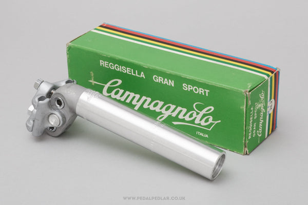 Campagnolo Gran Sport (3800) NOS/NIB Vintage 26.2 mm Seatpost - Pedal Pedlar - Buy New Old Stock Bike Parts