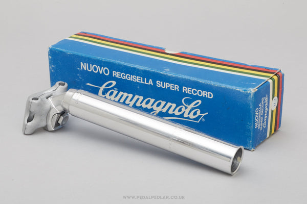 Campagnolo Nuovo Super Record (4051/1) Non-Fluted NOS/NIB Vintage 27.2 mm Seatpost - Pedal Pedlar - Buy New Old Stock Bike Parts
