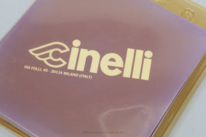 "Cinelli 1A Winged C Logo Black Anodised NOS/NIB Vintage 95 mm 1"" Quill Stem - Pedal Pedlar - Buy New Old Stock Bike Parts"