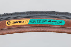 Continental Grand Prix NOS Vintage 700 x 23c Road Tyre - Pedal Pedlar - Buy New Old Stock Bike Parts