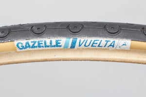 Gazelle Vuelta NOS Vintage 700 x 20c Road Tyre - Pedal Pedlar - Buy New Old Stock Bike Parts