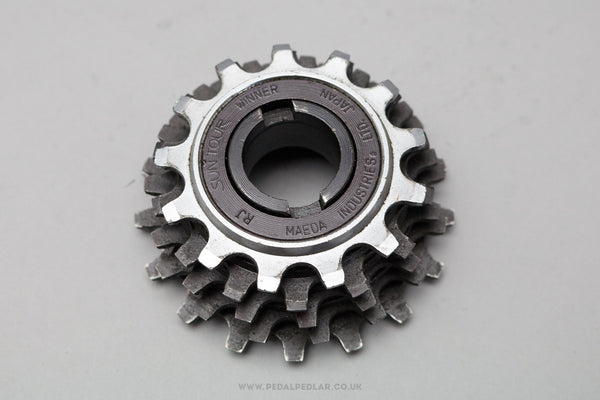 Suntour Winner 5 Speed Vintage Freewheel & Chain Set