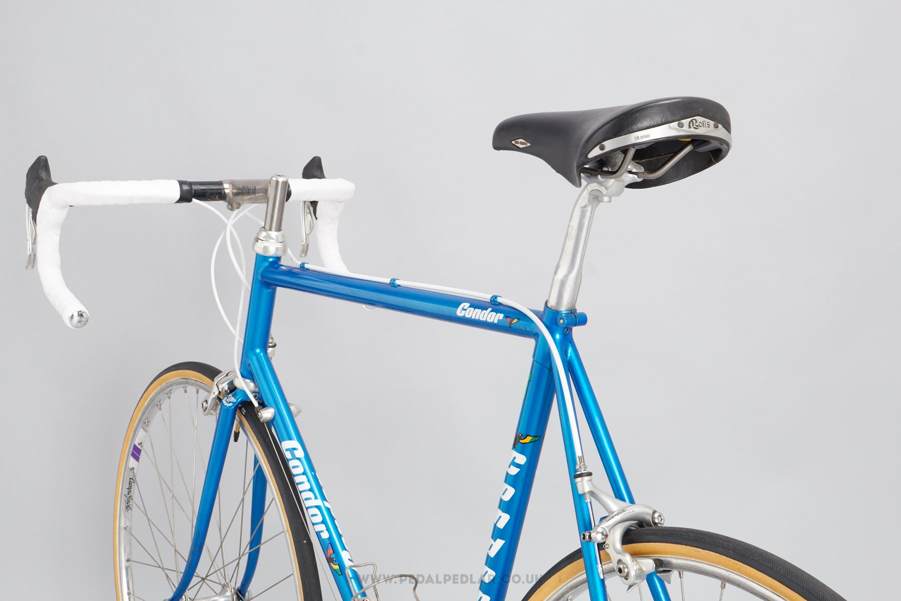 58cm Condor Cycles 1995 Reynolds 853 Vintage Road Racing Bike ...