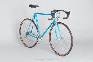 56.5cm Banesto Columbus Cromor c.1994 Classic Steel Racing Bike