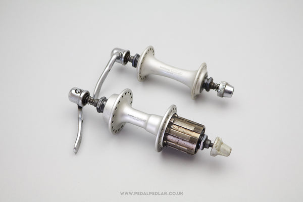 36h Shimano 1055 Vintage 7 Speed HG/UG Road Hubs (Pair)