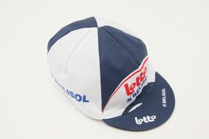 Lotto Bolisol Cotton Cycling Cap - Pedal Pedlar  - 1