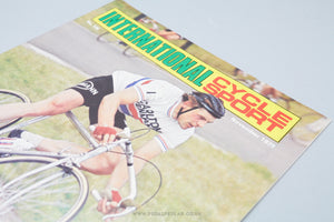 International Cycle Sport Vintage Cycling Magazines  - Issues from 1979 to 1980