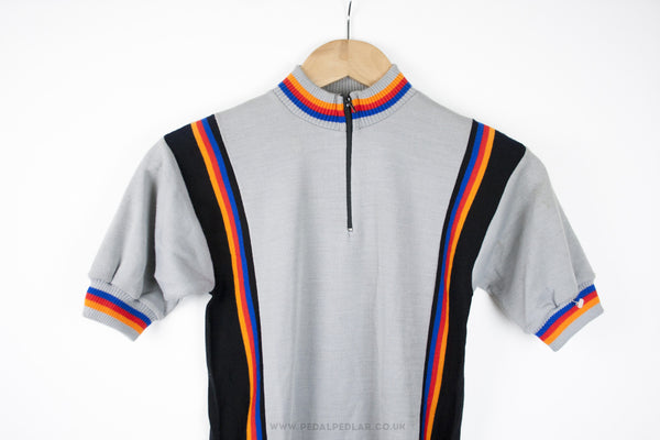 Unbranded Vintage Short Sleeve Cycling Jersey - Pedal Pedlar  - 1