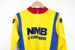 NMB Vintage Long Sleeve Cycling Jersey - Pedal Pedlar  - 1