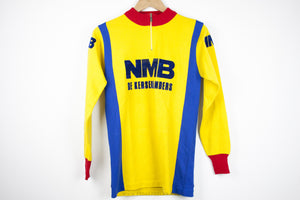 NMB Vintage Long Sleeve Cycling Jersey - Pedal Pedlar  - 2