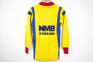 NMB Vintage Long Sleeve Cycling Jersey - Pedal Pedlar  - 3