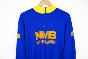 NMB Vintage Long Sleeve Cycling Jersery - Pedal Pedlar  - 1