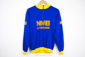 NMB Vintage Long Sleeve Cycling Jersery - Pedal Pedlar  - 2