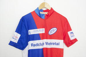Rad Club Vintage Short Sleeve Cycling Jersey - Pedal Pedlar  - 1