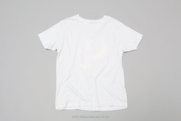 Pedal Pedlar Soft Cotton T-Shirt in White - Pedal Pedlar  - 1