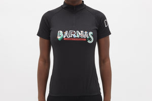 Barnas Vintage Short Sleeved Cycling Jersey Ladies - Pedal Pedlar  - 2