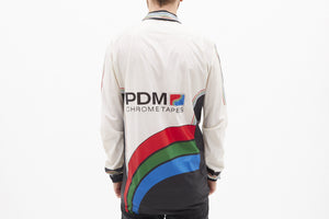 Team PDM Concorde Vintage Long Sleeved Cycling Jacket - Pedal Pedlar  - 2