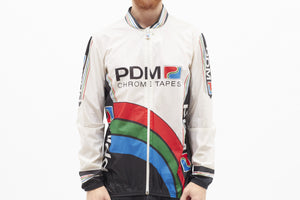 Team PDM Concorde Vintage Long Sleeved Cycling Jacket - Pedal Pedlar  - 1