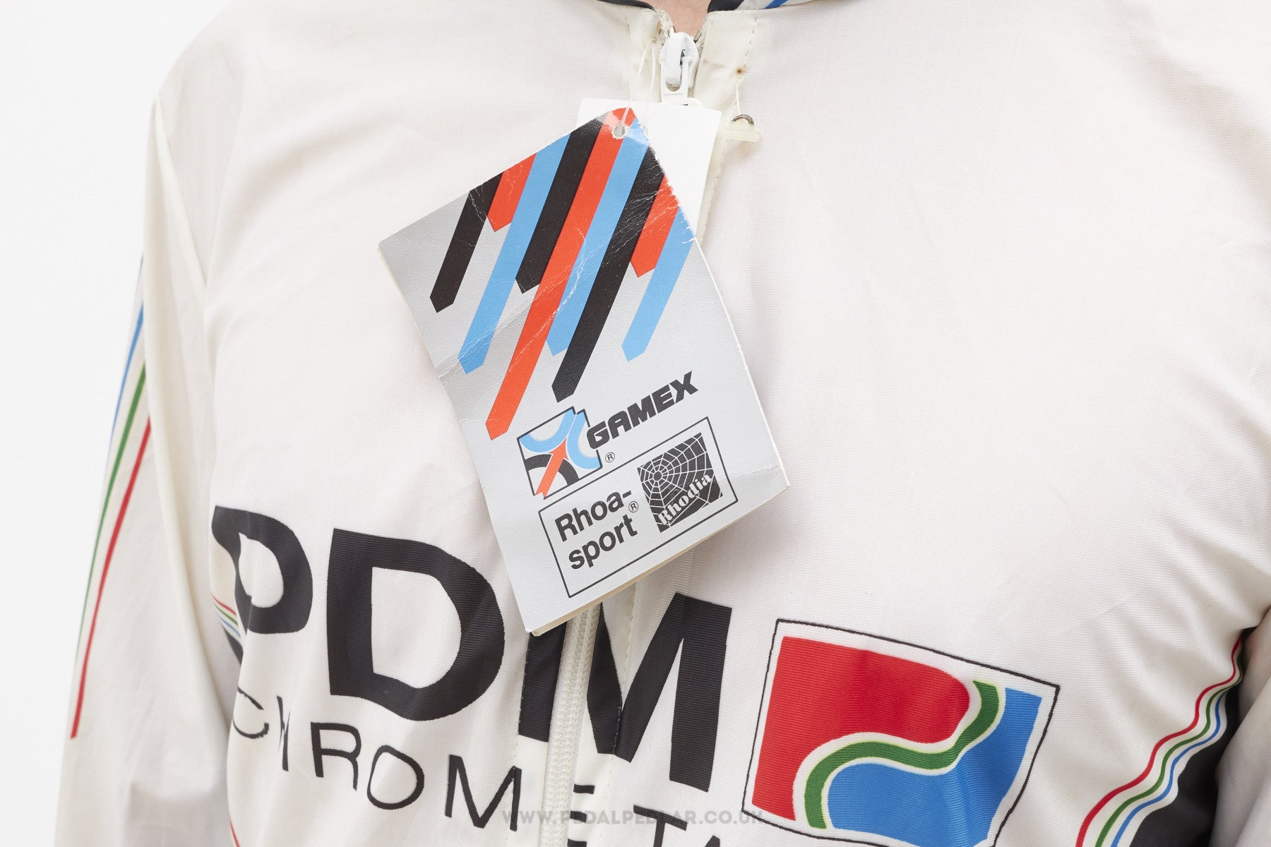 Team PDM Concorde Vintage Long Sleeved Cycling Jacket - Pedal Pedlar - 4 1db9c4978