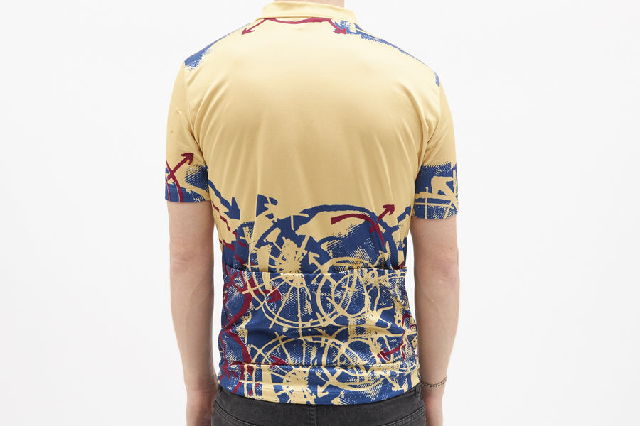 Vermarc Vintage Short Sleeved Cycling Jersey - Pedal Pedlar  - 1