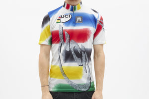Santini SMS Vintage Short Sleeved Cycling Jersey - Pedal Pedlar  - 1