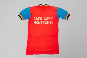 Cafe Capri Montegnee	- Vintage	Woollen Style	Cycling Jersey - Pedal Pedlar  - 2