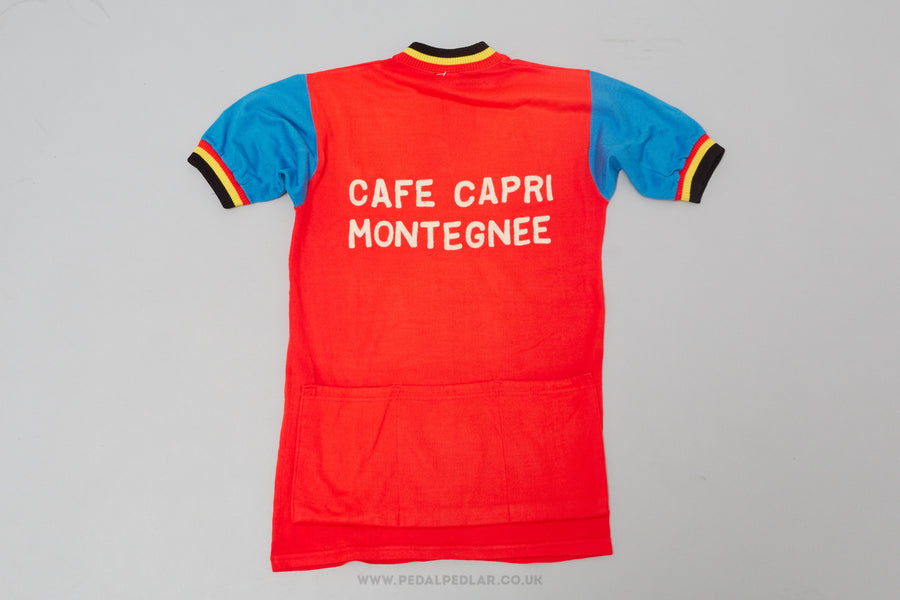 Cafe Capri Montegnee	- Vintage	Woollen Style	Cycling Jersey - Pedal Pedlar  - 1