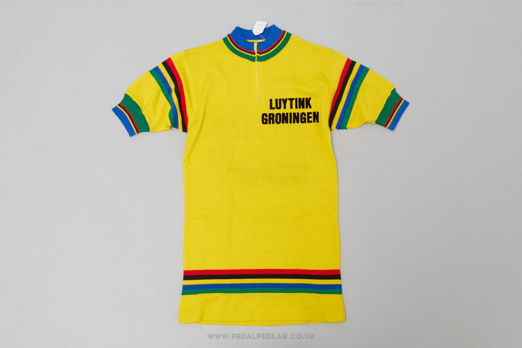 Luytink Groningen Vintage Woollen Style Cycling Jersey Pedal Pedlar 1 f0c20418a