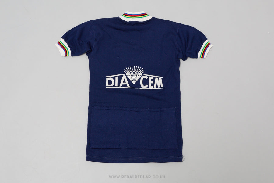 Diacem - Vintage Woollen Style Cycling Jersey - Pedal Pedlar  - 1