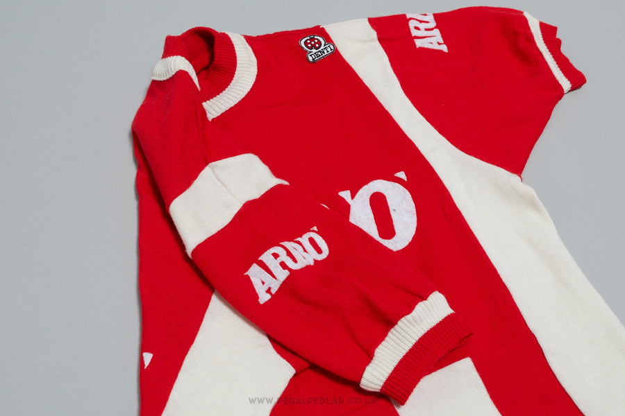 Mino Denti Arbo - Vintage Woollen Style Cycling Jersey
