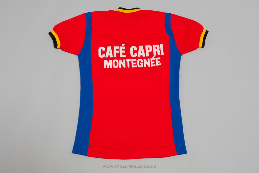 Cafe Capri Pedale Montagnarde - Vintage Woollen Style Cycling Jersey
