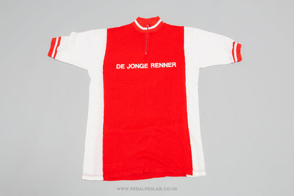 De Jonge Renner (Young Rider) - Vintage Woollen Style Cycling Jersey