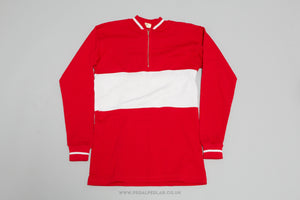 Campitello - Vintage Woollen Style Long Sleeved Cycling Jersey
