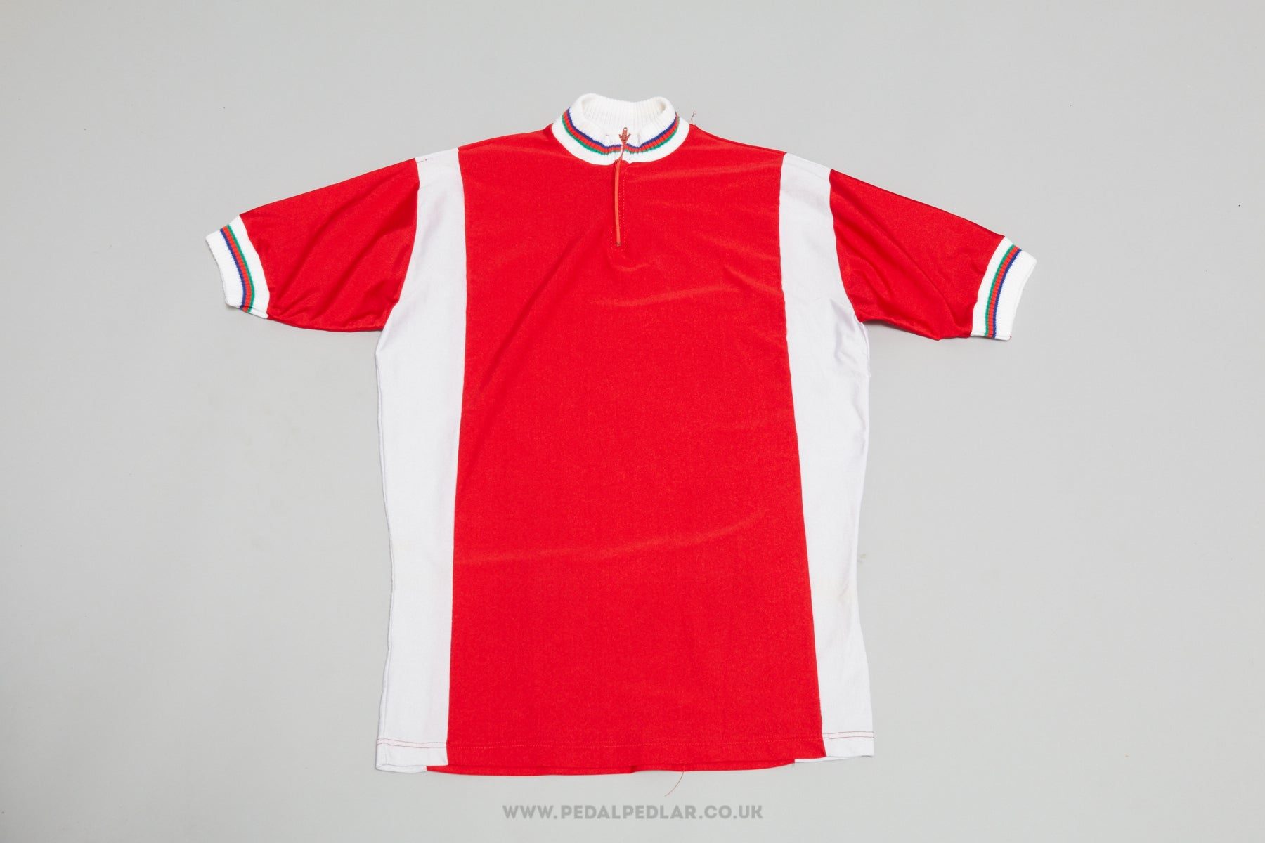 d0d71fa56 Sport NOS Vintage Woollen Style Cycling Jersey